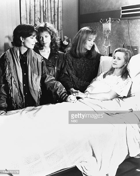 SISTERS Mirror Mirror Episode 18 Aired 2/20/93 Pictured Sela Ward as Teddy Reed Julianne Phillips as Francesca 'Frankie' Reed Patricia Kalember as...