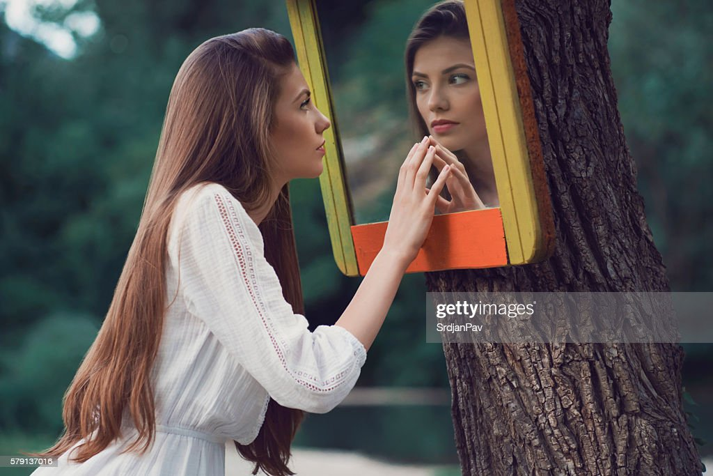 Mirror Mirror... : Stock Photo