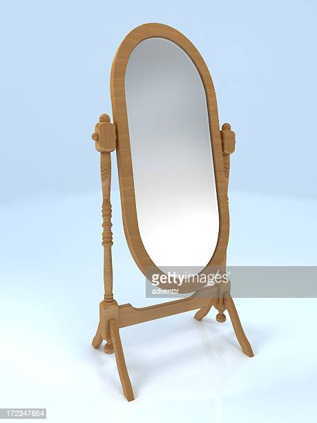 mirror - oval shaped objects stock pictures, royalty-free photos & images