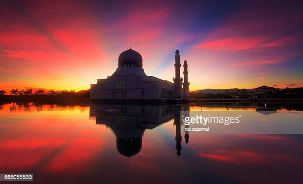 Mirror reflection of Bandaraya Mosque