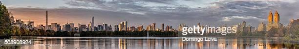 Mirrored Skyline, New York City