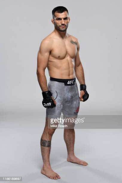 Mirsad Bektic of Bosnia poses for a portrait during a UFC photo session on July 10 2019 in Sacramento California