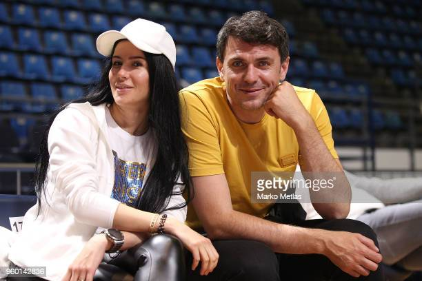 Mirsad Turkcan former Turkish national team basketball player poses during the 2018 Turkish Airlines EuroLeague F4 International All Star Game at...