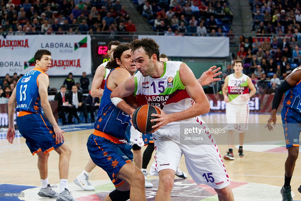 Laboral Kutxa Vitoria  v  Valencia Basket  - Turkish Airlines Euroleague