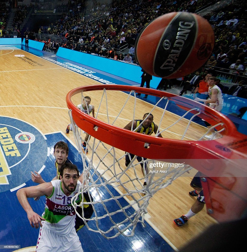Fenerbahce Ulker Istanbul  v  Laboral Kutxa Vitoria - Turkish Airlines Euroleague Top 16