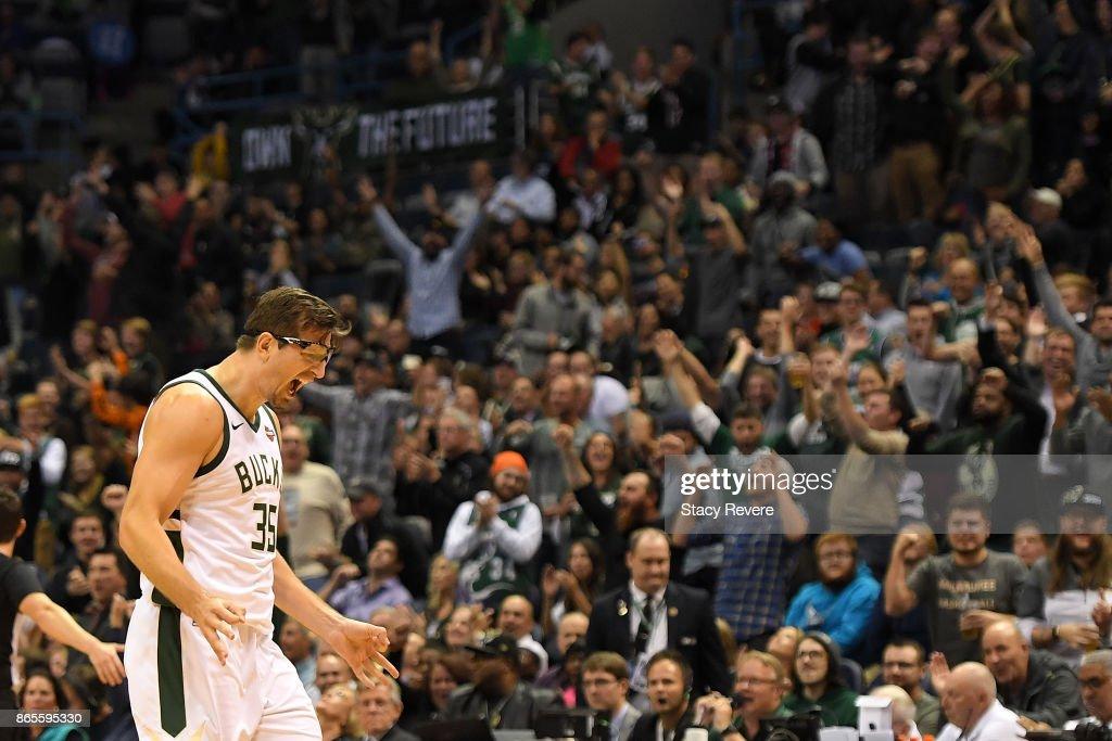 Charlotte Hornets v Milwaukee Bucks
