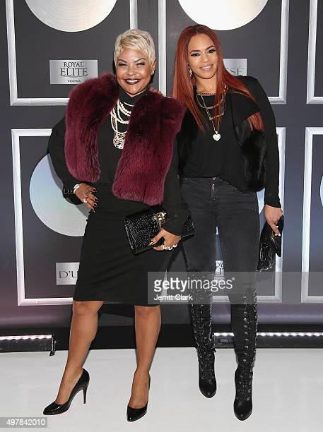 Misa Hylton and Evans attends Fabolous' 90's Platinum Party Birthday on November 18 2015 in New York City