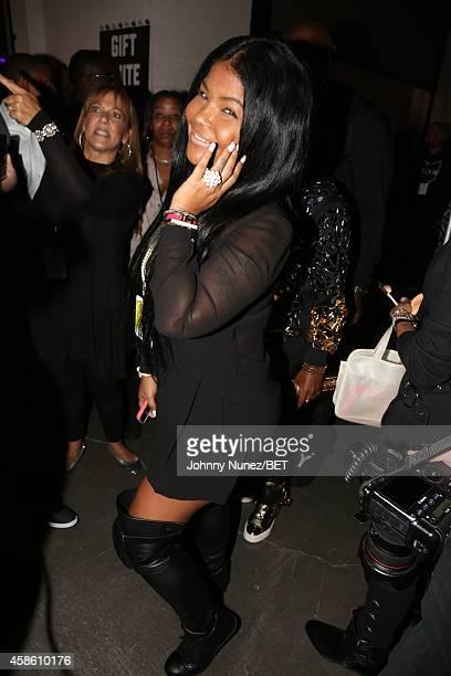 Misa Hylton attends Centric Presents The 2014 Soul Train Awards on November 7 2014 in Las Vegas Nevada