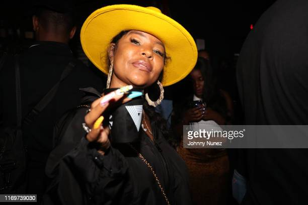 Misa Hylton attends Rapsody's Evealbum listening party at MADE Hotel on August 22 2019 in New York City