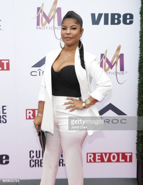 Misa Hylton attends the Culture Creators 2nd Annual Awards Brunch Presented By Motions Hair And Ciroc at Mr C Beverly Hills on June 24 2017 in...