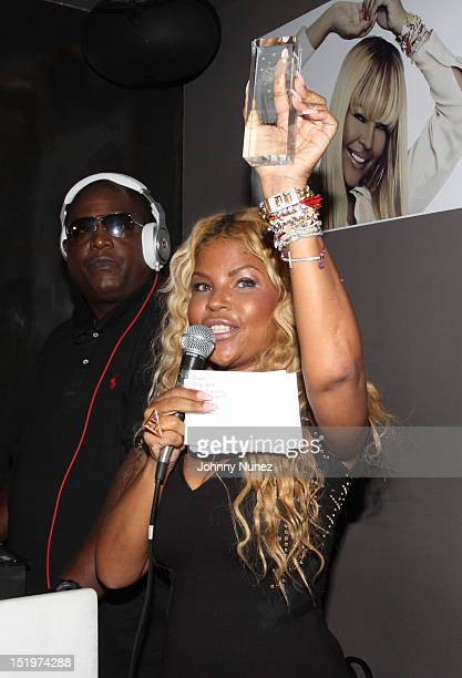 Misa Hylton attends The Misa Hylton Fashion Academy Presents A Toast To Today's Top Stylists at Kristalbelli on September 13 2012 in New York City