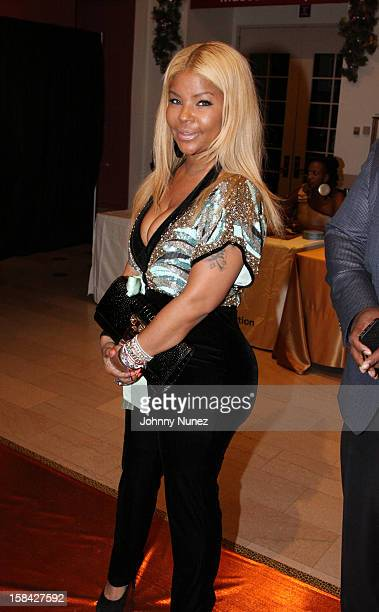 Misa Hylton attends the Monami 2012 Holiday Celebration at The Newark Museum on December 15 2012 in Newark New Jersey