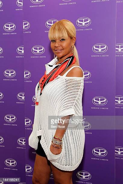 Misa Hylton attends the Simone I Smith Trunk Show at Neiman Marcus Atlanta on May 10 2012 in Atlanta Georgia