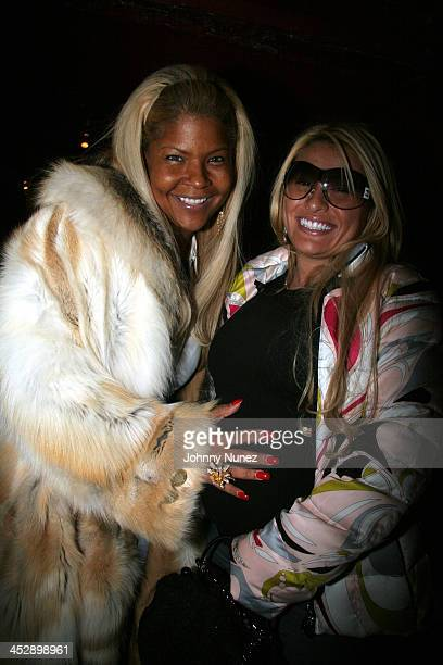Misa HyltonBrim and Fat Joe's Wife during BET Presents Rip The Runway Show and Inside at Roseland Ballroom in New York City New York United States