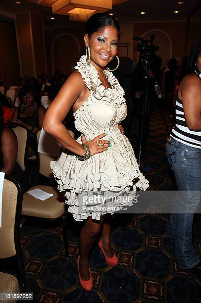 Misa HyltonBrim attends the 2nd annual Blackout Awards at the Newark Hilton Gateway Hotel on June 12 2011 in Newark New Jersey