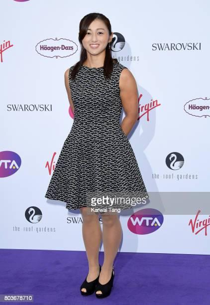 Misaki Doi attends the WTA PreWimbledon party at Kensington Roof Gardens on June 29 2017 in London England