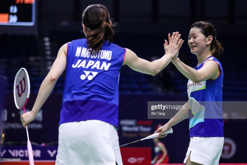 2019 China Badminton Open - Day 2 : News Photo