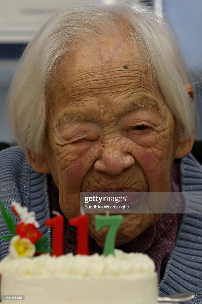 The World's Oldest Person Turns 117 : News Photo