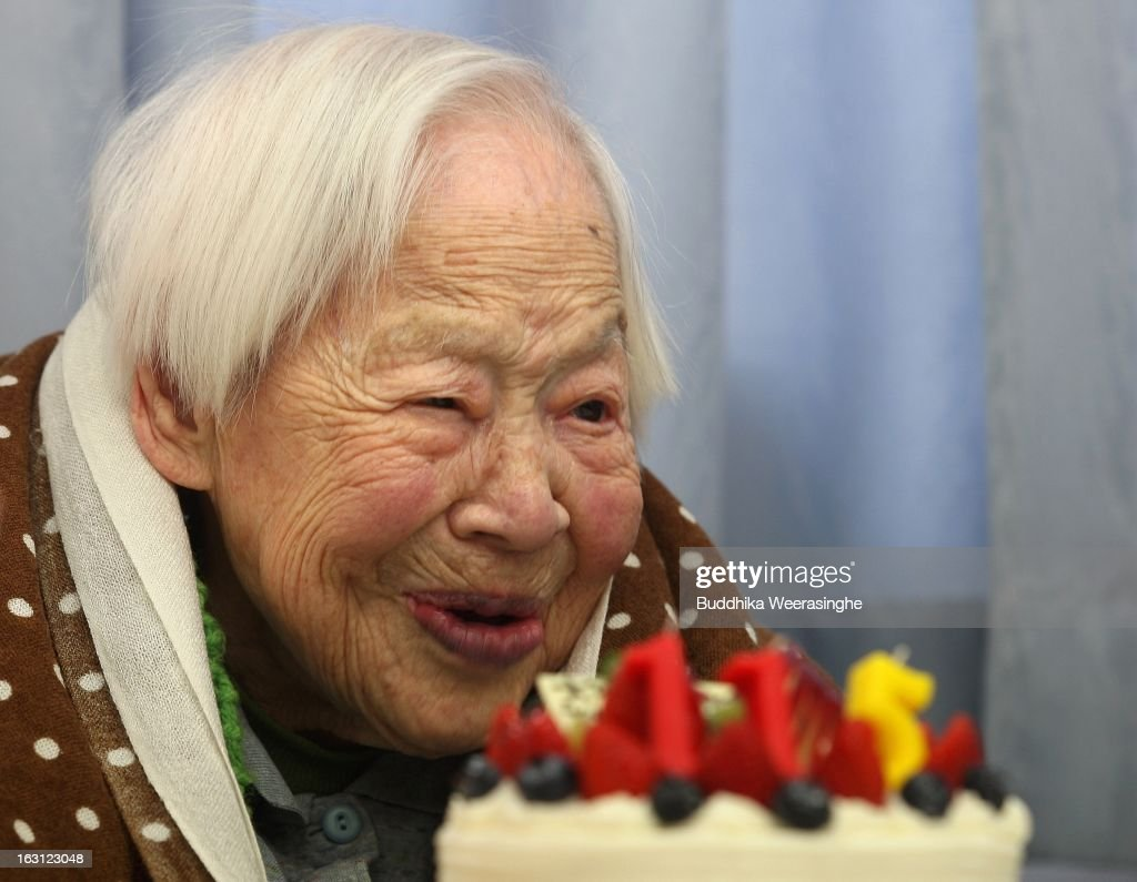 World's Oldest Woman Turns 115 : News Photo