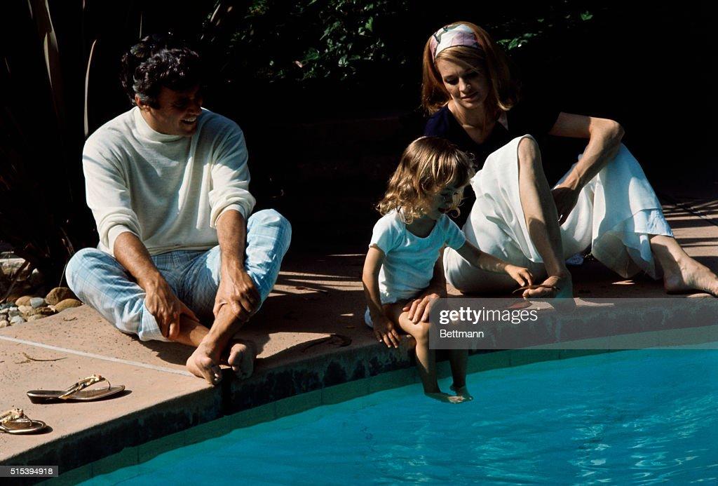 Burt Bacharach and Angie Dickinson : News Photo