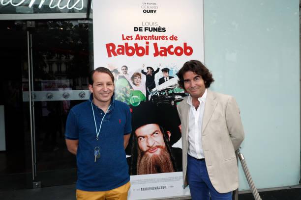"FRA: ""Rabbi Jacob"" Movie Re-Release In Paris"