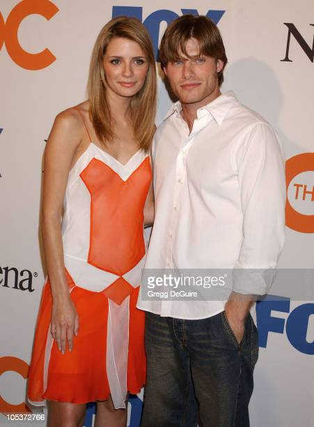 Mischa Barton and Chris Carmack during 'The OC' Season Finale Party Arrivals at Falcon in Hollywood California United States