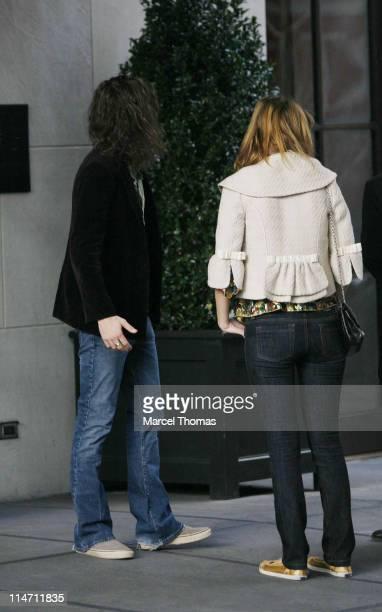 Mischa Barton and Cisco Adler during Mischa Barton Sighting in New York City December 7 2006 in New York City New York United States