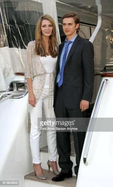Mischa Barton and Hayden Christensen