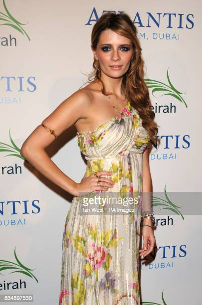 Mischa Barton arrive at The Atlantis Hotel launch party 'Birth Of An Icon The Celebration' at Palm Jumeirah in Dubai