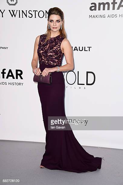 Mischa Barton arrives at amfAR's 23rd Cinema Against AIDS Gala at Hotel du CapEdenRoc on May 19 2016 in Cap d'Antibes France
