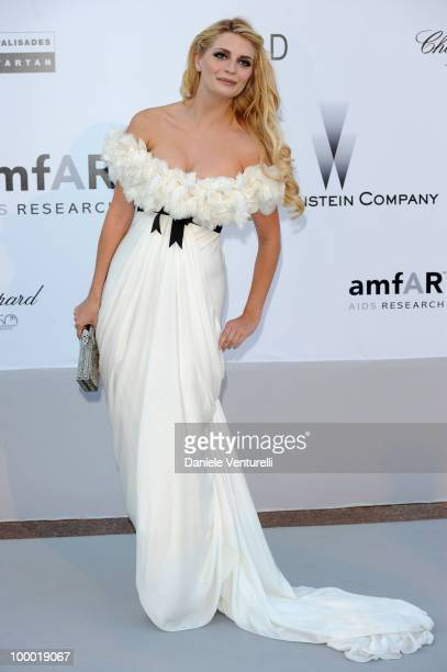Mischa Barton arrives at amfAR's Cinema Against AIDS 2010 benefit gala at the Hotel du Cap on May 20 2010 in Antibes France