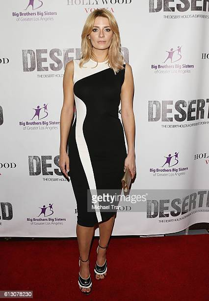 Mischa Barton arrives at the Los Angeles premiere of 'Deserted' held at Majestic Crest Theatre on October 6 2016 in Los Angeles California