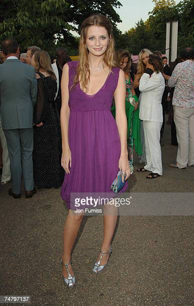 Mischa Barton at the Serpentine Gallery in London United Kingdom
