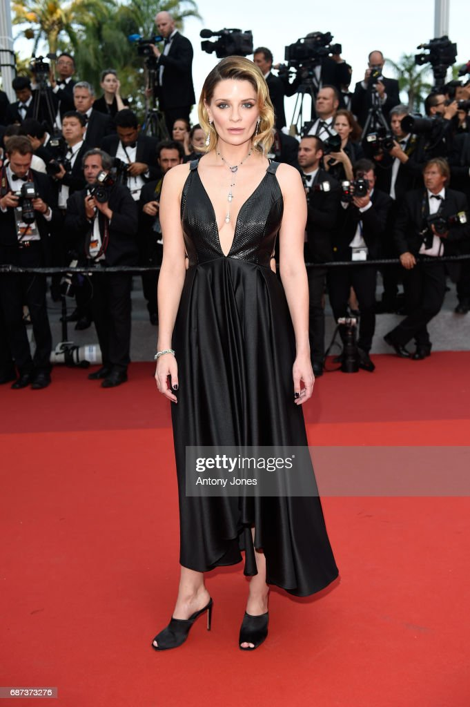 Mischa Barton attends the 70th Anniversary of the 70th annual Cannes Film Festival at Palais des Festivals on May 23, 2017 in Cannes, France.