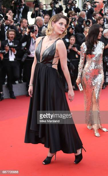 Mischa Barton attends the 70th Anniversary screening during the 70th annual Cannes Film Festival at Palais des Festivals on May 23 2017 in Cannes...