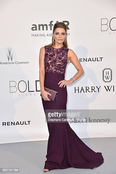 Mischa Barton attends the amfAR's 23rd Cinema Against AIDS Gala Dinner at the annual 69th Cannes Film Festival at Hotel du CapEdenRoc on May 19 2016...