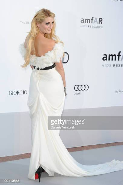 Mischa Barton attends the amfAR's Cinema Against Aids Gala at the Hotel Du Cap during the 63rd International Cannes Film Festival on May 20 2010 in...