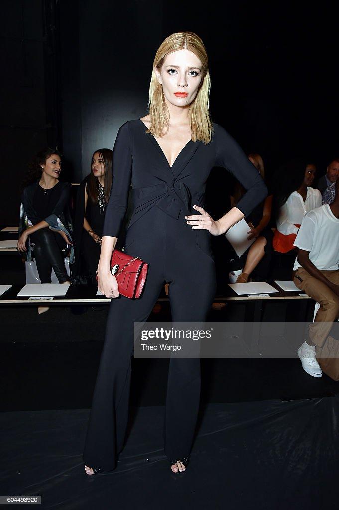 Chiara Boni La Petite Robe - Front Row - September 2016 - New York Fashion Week: The Shows