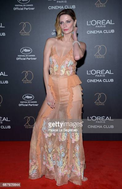 Mischa Barton attends the Gala 20th Birthday Of L'Oreal In Cannes during the 70th annual Cannes Film Festival at Martinez Hotel on May 24 2017 in...