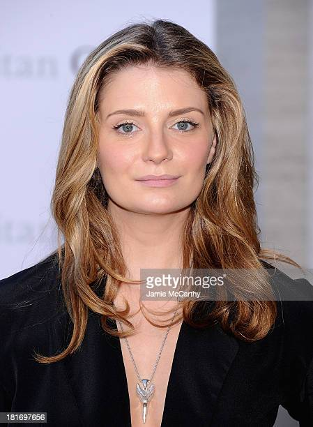 Mischa Barton attends the Metropolitan Opera Season Opening Production Of Eugene Onegin at The Metropolitan Opera House on September 23 2013 in New...