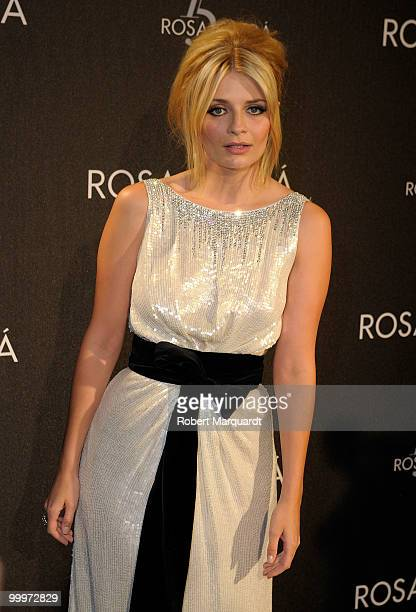Mischa Barton attends the Rosa Clara 15th Anniversary dinner party held at the National Palau on May 18 2010 in Barcelona Spain