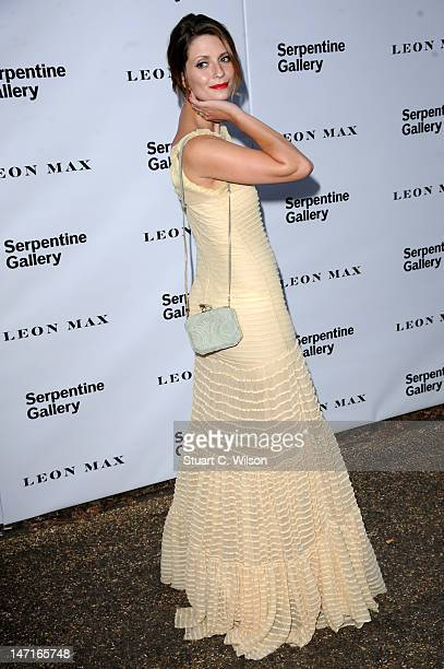 Mischa Barton attends the Serpentine Gallery Summer Party at The Serpentine Gallery on June 26 2012 in London England