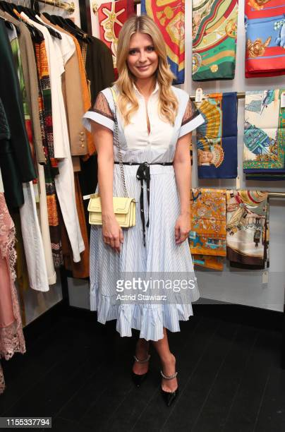 Mischa Barton attends the What Goes Around Comes Around X eBay partnership launch event on June 11 2019 in New York City
