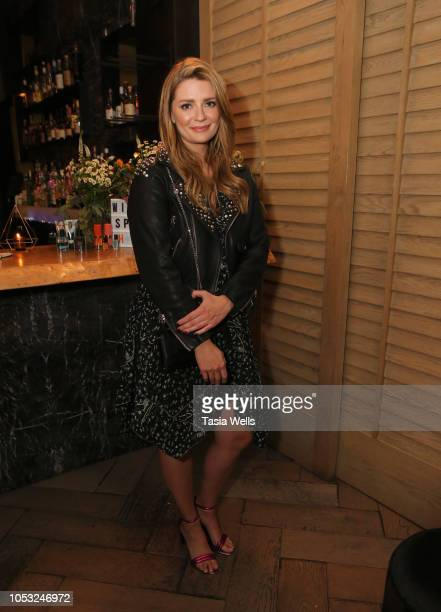Mischa Barton attends the Wild Spirit Fragrance Holiday Collection dinner at Norah in West Hollywood at Norah on October 24 2018 in West Hollywood...