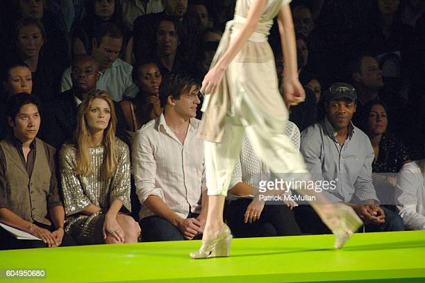 Mischa Barton Dan Renzi Maria Sharapova and attend MARC JACOBS Spring 2007 Fashion Show at New York Armory on September 11 2006 in New York City