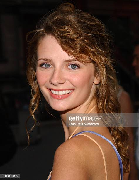 Mischa Barton during 2004 Fox AllStar Party at 20th Century Fox Studios in Los Angeles California United States
