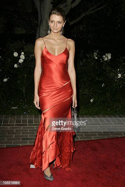 Mischa Barton during 6th Annual MercedesBenz DesignCure at Home of Sugar Ray and Bernadette Leonard in Pacific Palisades California United States