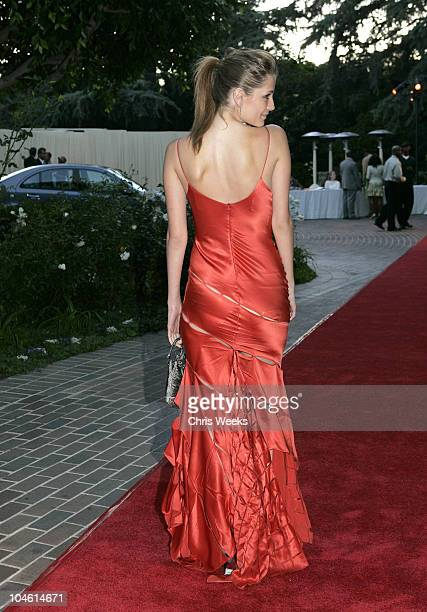 Mischa Barton during 6th Annual MercedesBenz DesignCure Red Carpet at Private Residence in Pacific Palisades California United States