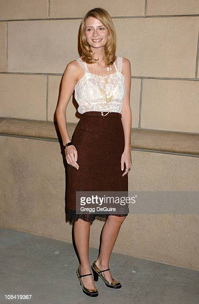 Mischa Barton during Academy of Television Arts Sciences Presents The OC Revealed at Steven Ross Theatre/Warner Bros Studios in Burbank California...