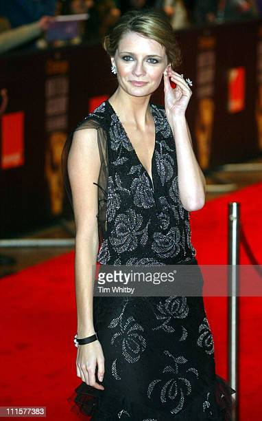 Mischa Barton during BAFTA Film Awards 2005 Outside Arrivals at Leicester Square in London Great Britain